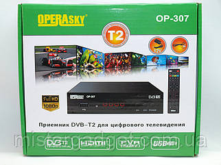 Тв тюнер DVB-Т2 Operasky OP-307 цифрова приставка