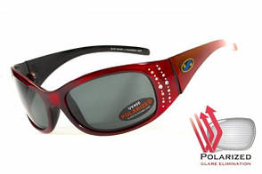 Женские солнцезащитные очки BluWater BISCAYENE Red