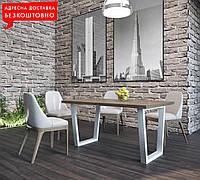 Стол Бинго ш1200/1600мм обеденный/офисный LOFT/ЛОФТ
