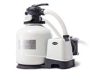 Песочный насос с хлоргенератором Intex 26676-1, 6 000 л/ч хлор 7 г/ч, 35 кг