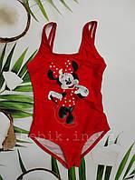 Дитячий суцільний купальник з Minnie Mouse