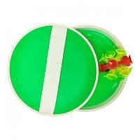 "Дитяча гра ""Пастка"" M 2872 м'яч на присосках 15 см (Зелений)"