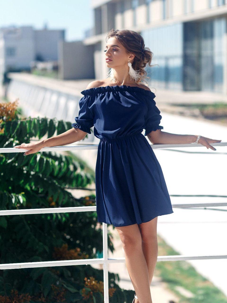 Женско платье. Ткань - супер софт Цвета - голубой, красный, мята,молочный, бежевый,черный. Размер 42-44, 46-48