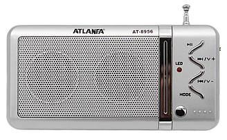 Радіоприймач Atlanfa AT-8956 акумуляторний, USB/SD програвач