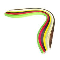 Набор бумаги для квиллинга 3 мм Регги, 7 цветов, 100 шт.