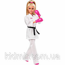 Лялька Барбі Олімпійські ігри Токіо Карате Barbie Olympic Games Tokyo 2020 GJL74