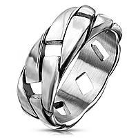 Кольцо из стали мужское Spikes R-M7480S, р. 19, 20, 20.5, 21.5, 22
