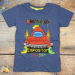 """Підліткова футболка """"Among Us"""" Розміри: 128,134,140,146,152 см (02067-3)"""