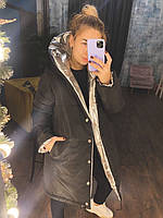 """Зимова двостороння куртка Розміри: 42-44,46-48 """"LAVANDA"""" недорого від прямого постачальника idm960882"""