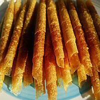Фруктовая пастила домашняя Яблоко Ананас натуральные конфеты жевательные , без сахара, без добавок 50г