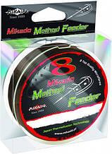 Шнур рыболовный Mikado 8 Octa Method Feeder Braid 300м 0,12мм 8,9кг Brown, КОД: 2452398
