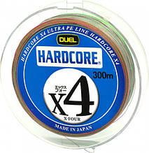 Шнур рыболовный Yo-Zuri Duel Hardcore X4 300 м 19 кг 3 Разноцветный, КОД: 2452697