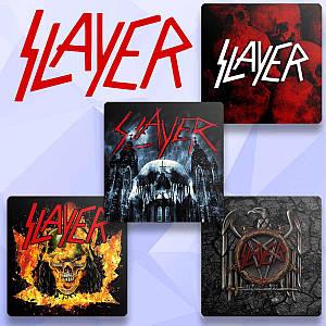 "Подставки под чашку Слейер ""Skull in Fire"" / Slayer"
