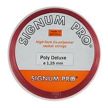 Теннисные струны Signum Pro Poly Deluxe Red 12.2 м Красный 1230-0-1, КОД: 1639975