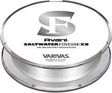 Шнур рыболовный Varivas Salt Water Finesse PE X8 150 м 0.3, КОД: 2418514