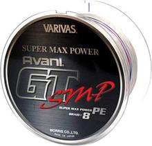 Шнур рыболовный Varivas Avani GT SMP 600 м 80lb 5, КОД: 2452692