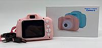 Детский фотоапарат / Baby Camera / ET-004 (Розовый) PINK (100шт)