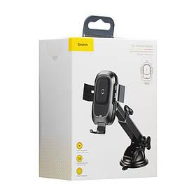Автодержатель Baseus и Wireless Charger WXZN-B SKL11-229389