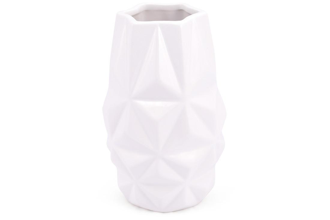 Ваза керамічна, 19 см, біла SKL11-249982
