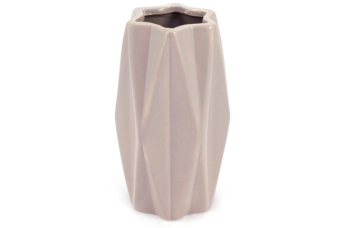 Ваза керамическая, 19 см, песочная SKL11-249975