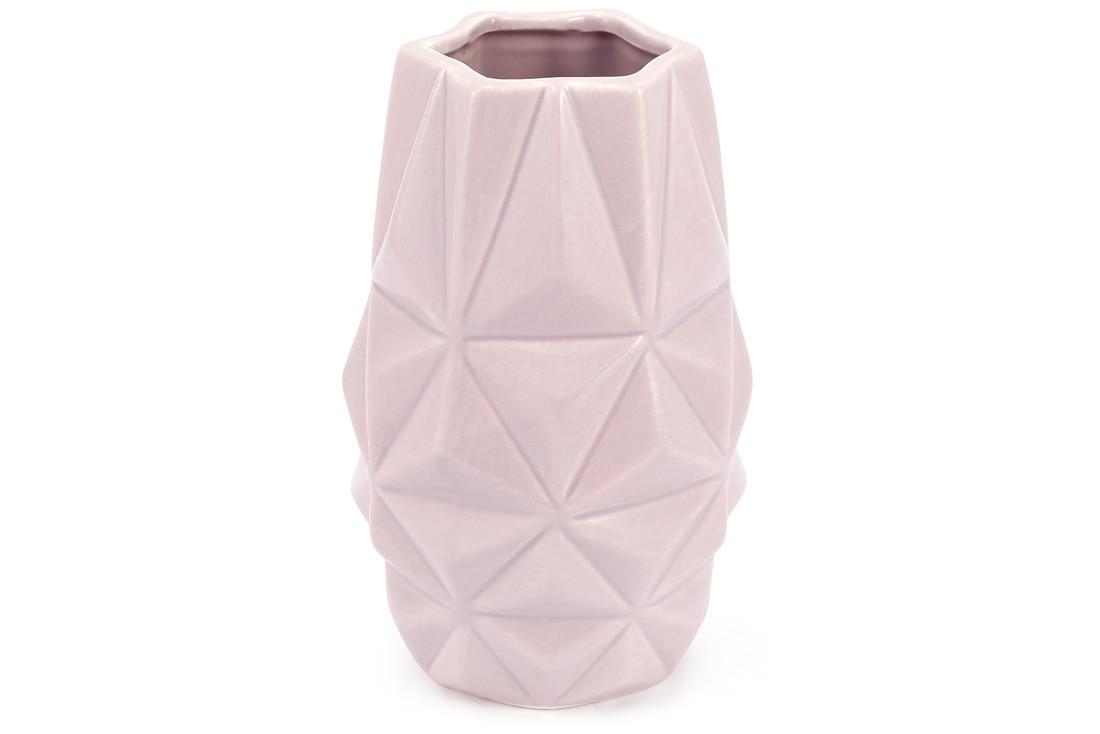 Ваза керамическая, 19 см, песочная розовая SKL11-249980