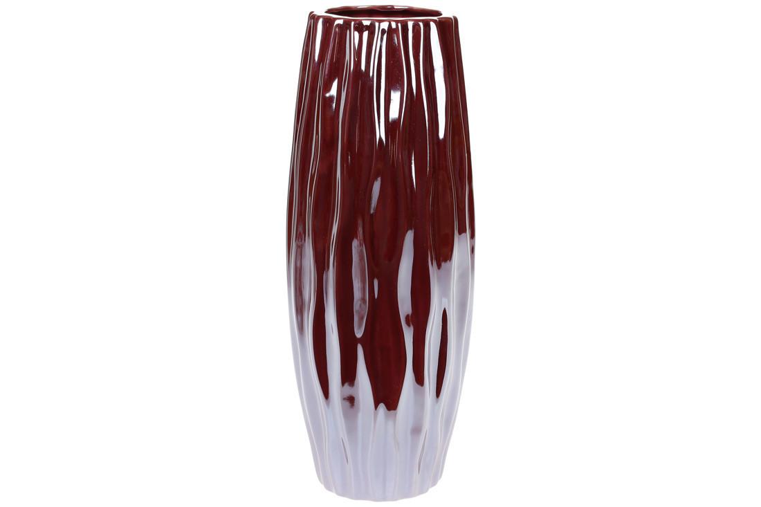 Ваза керамічна, 30 см, перлова винна SKL11-249933