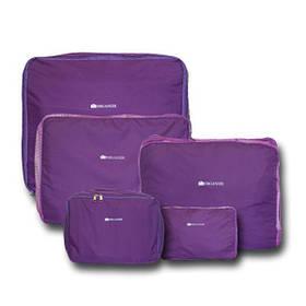 Дорожный органайзер, сумочки в чемодан 5 шт Organize фиолетовый C002 SKL34-176168