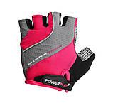 Велорукавички PowerPlay 5023 Рожеві XS SKL24-144530, фото 2