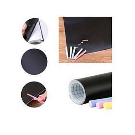 Дошка-стікер для малювання крейдою Black Board Sticker SKL11-276430
