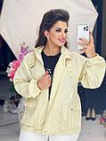 Жіноча джинсова куртка бежева SKL11-289874, фото 5