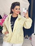 Жіноча джинсова куртка бежева SKL11-289874, фото 6