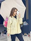 Жіноча джинсова куртка бежева SKL11-289874, фото 9
