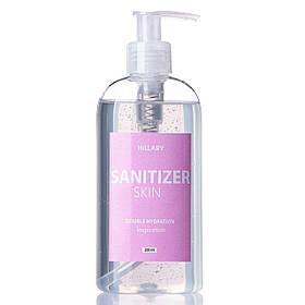 Антисептик Санитайзер HiLLARY Skin Sanitizer Double Hydration inspiration сертифицированный 200ml SKL11-239141