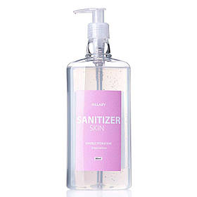 Антисептик Санитайзер HiLLARY Skin Sanitizer Double Hydration сертифицированный 500 ml SKL11-239137