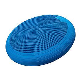 Балансировочная подушка сенсомоторная массажная 4FIZJO Xxl Med Blue SKL41-240764