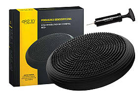 Балансувальна подушка, сенсомоторна масажна 4FIZJO 4FJ0051 Black SKL41-227821