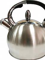 Чайник 3 литра из стали Lessner 49510, коррозионно стойкий, на все плиты.