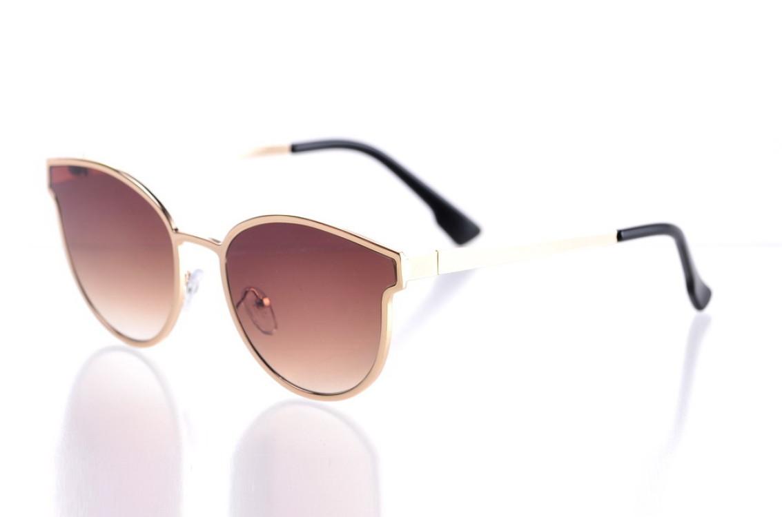 Жіночі сонцезахисні окуляри 004brown SKL26-147628