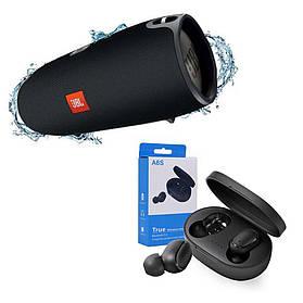 Портативна бездротова Bluetooth колонка в стилі Jbl Xtreme в подарунок Бездротові навушники A6S SKL11-277580