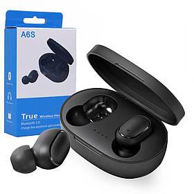 Бездротові навушники A6S / Bluetooth сенсорні наушнки SKL11-276393