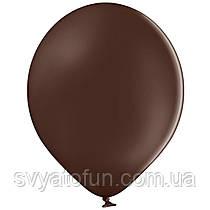 """Латексные шарики 10,5"""" пастель В85/149 коричневый 50шт/уп BelBal"""