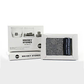 Камни для виски Whiskey Stones с мешочком для хранения в комплекте 9шт SKL11-178629