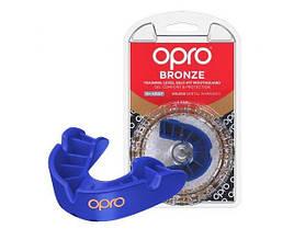 Капа Opro Bronze Blue SKL24-277182