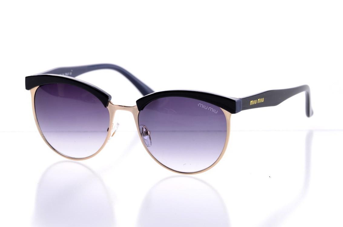 Жіночі сонцезахисні окуляри 1513blue SKL26-147710