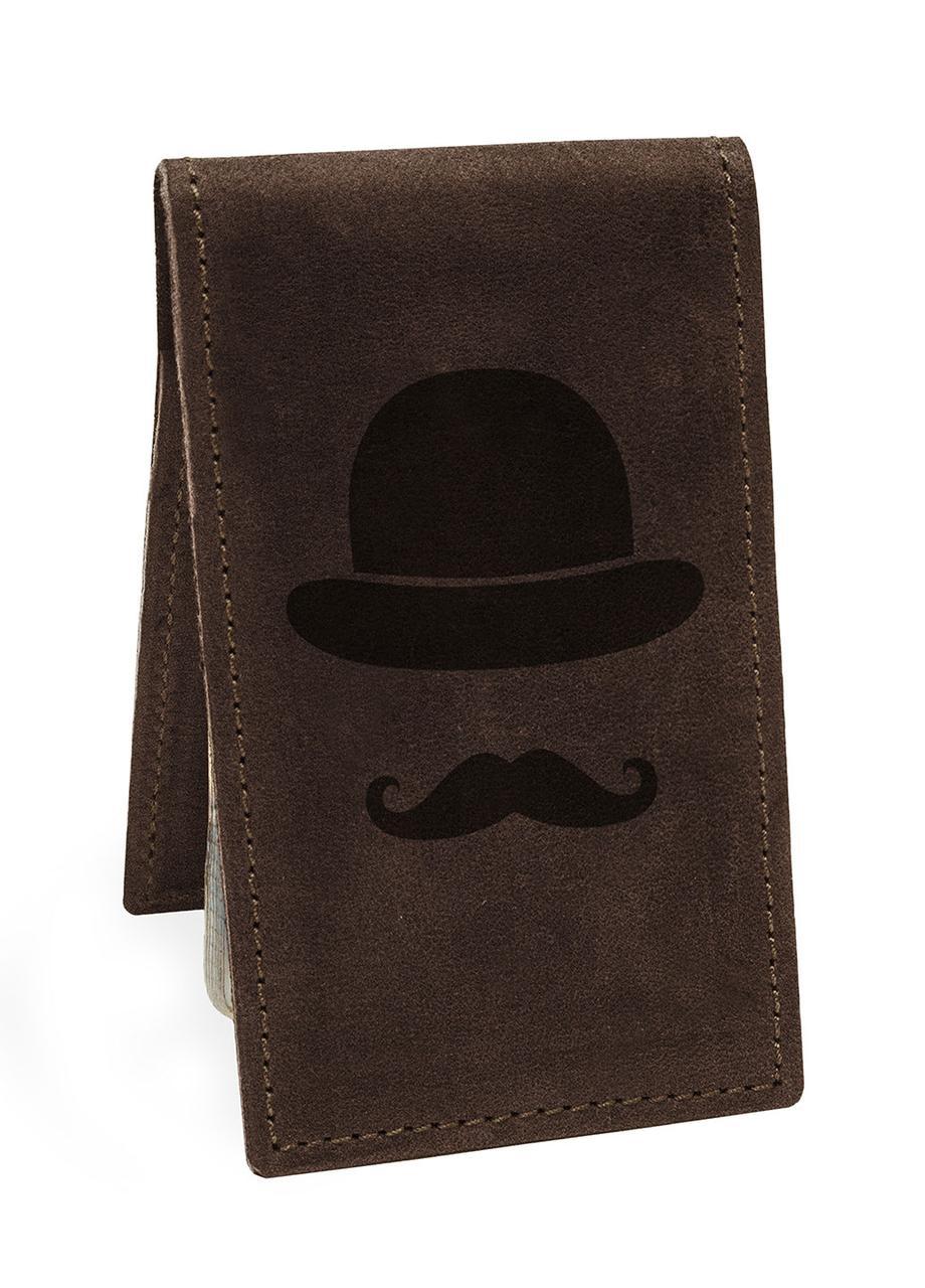 Візитниця Джентльмен М01 коричнева SKL47-177616