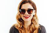 Женские солнцезащитные очки 1515c38 SKL26-147379, фото 4