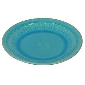 Блюдо Exotic голубое 3х26 см SKL11-209327