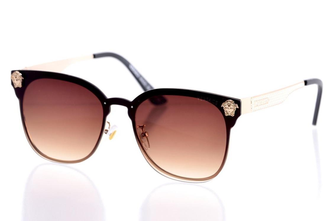 Жіночі сонцезахисні окуляри 1953brown SKL26-147647
