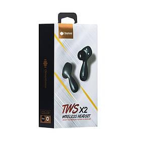 Блютуз стерео гарнитура DeepBass TWS-X2 SKL11-233309