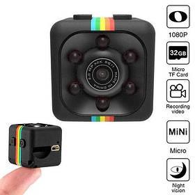 Мини камера Omg SQ11 с датчиком движения и ночным видением SKL11-276425